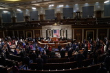 Photos From Mock Swearing-in for members of 117th Congress