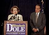 Photo - Elizabeth Dole Withdraws form the 2000 Presidential Race