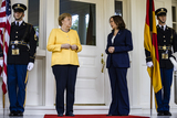 Photos From VP Harris Welcomes Chancellor Merkel