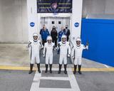 Photo - SpaceX Crew-2 Crew Walkout