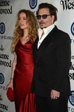 Photo - Amber Heard Johnny Deppat The Art of Elysiums Ninth Annual Heaven Gala 3LABS Culver City CA 01-09-16