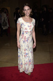 Amy Jo Johnson Photo -  Amy Jo Johnson at the 2001 St Judes Gala to benefit the St Judes Childrens Research Hospital held at the Beverly Hilton Hotel 03-01-01
