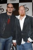 Jeff Abercrombie Photo - Jeff Abercrombie and Carl Bell of Fuel at the Pre-Grammy Rock  Roll Carnival in The Avalon Hollywood CA 02-07-04