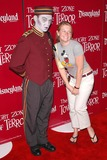 Photo - Melissa Joan Hart at the Twilight Zone Tower of Terror in the Hollywood Tower Hotel Disneys California Adventure Anaheim CA 05-04-04