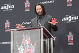 Photo - Keanu Reeves Hand and Foot Print Ceremony
