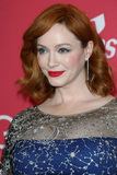 Photo - LOS ANGELES - FEB 19  Christina Hendricks at the 2019 Costume Designers Guild Awards at the Beverly Hilton Hotel on February 19 2019 in Beverly Hills CA