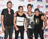 American Authors Photo - CAMDEN NJ - JUNE 28 American Alternative Rock Band American Authors Pose at Mix 106s Summer Jam at Susquehanna Bank Center on June 28 2014 in Camden New Jersey (Photo by Paul J FroggattFamousPix)