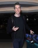 Photos From Arie Luyendyk Jr. is seen at LAX Airport