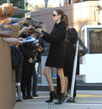 Photos From Angelina Jolie sighting in Los Angeles, CA