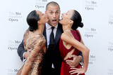 Photo - Photo by Dennis Van TinestarmaxinccomSTAR MAX2017ALL RIGHTS RESERVEDTelephoneFax (212) 995-119692517Chrissy Barker Nigel Barker and Kimberly Hise at The Metropolitan Opera Opening Night Gala in New York City