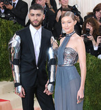 Photo - Photo by XPXstarmaxinccomSTAR MAX2016ALL RIGHTS RESERVEDTelephoneFax (212) 995-11965216Gigi gadid and Zayn Malik at Manus x Machina Fashion In An Age of Technology Costume Institute Gala(Metropolitan Museum of Art NYC)