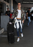Photos From Alessandra Ambrosio sighting at LAX Airport, Los Angeles