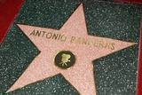 Photos From Antonio Banderas' star on