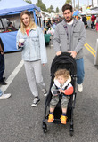 Photos From Whitney Port and family at the Farmers Market in Studio City, CA
