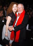Stan Herman Photo - Photo by Walter Weissmanstarmaxinccom200521005Bernadette Peters and Stan Herman at the Fall 2005 Collections during Fashion Week(NYC)