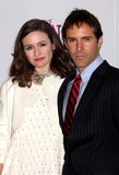 PINK PANTHER Photo - Emily Mortimer and Alessandro Nivola Arriving at the Premiere of the Pink Panther 2 at the Ziegfeld Theater in New York City on 02-03-2009 Photo by Henry McgeeGlobe Photos Inc 2009