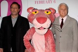 PINK PANTHER Photo - Jean Reno and Steve Martin Arriving at the Premiere of the Pink Panther 2 at the Ziegfeld Theater in New York City on 02-03-2009 Photo by Henry McgeeGlobe Photos Inc 2009
