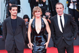 Louis Garrel Photo - VENICE ITALY - AUGUST 30 Louis Garrel Emmanuelle Seignier and Jean Dujardin walk the red carpet ahead of the JAccuse (An Officer And A Spy) screening during the 76th Venice Film Festival at Sala Grande on August 30 2019 in Venice Italy(Photo by Laurent KoffelImageCollectcom)
