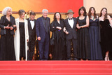 Anouk Aimee Photo - CANNES FRANCE - MAY 18 (2L-R) Souad Amidou Antoine Sire Claude Lelouch Anouk Aimee Jean-Louis Trintignant Marianne Denicourt Monica Bellucci and Tess Lauvergne attend the screening of Les Plus Belles Annees DUne Vie during the 72nd annual Cannes Film Festival on May 18 2019 in Cannes France(Photo by Laurent KoffelImageCollectcom)