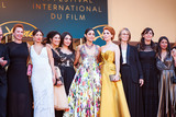 Emmanuelle Bercot Photo - CANNES FRANCE - MAY 12 Actress Emmanuelle Bercot director Eva Husson actress Golshifteh Farahani Frances Culture Minister Francoise Nyssen and guests attend the screening of Girls Of The Sun (Les Filles Du Soleil) during the 71st annual Cannes Film Festival at Palais des Festivals on May 12 2018 in Cannes France(Photo by Laurent KoffelImageCollectcom)