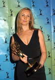 Angie Stephenson Photo - Angie Stephenson at the 30th Internationla Emmy Awards in New York Award is presented by Molly Price November 25 2002