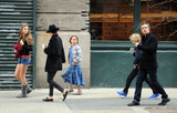 Photo - Timothy Olyphant and family in Soho