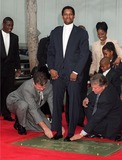 Photo - Denzel Washington footprint ceremony