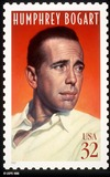 Photo - Humphrey Bogart stamp