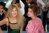 Arielle Dombasle Photo - Actresssupermodel LAETITIA CASTA (right)  actress ARIELLE DOMBASLE at the Cannes Film Festival to promote their new movie Savage Souls20MAY2001  Paul SmithFeatureflash