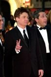 Alain Chabat Photo - Actor MIKE MYERS (left) with director ALAIN CHABAT at the premiere of their movie Shrek at the Cannes Film Festival12MAY2001  Paul SmithFeatureflash
