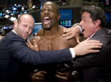 Terry Sylvester Photo - (L-R) From the film The Expendables actors Jason Statham Terry Crews and Sylvester Stallone pictured on the trading floor after ringing the opening bell at the New York Stock Exchange in New York City on August 19 2010
