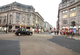 Oxford Circus Photo - London UK Oxford CircusLarge empty spaces where tourists usually gather and deserted streets around landmarks due to the threat of a further spread of coronavirus -COVID-19   London 19th March 2020Ref LMK73-J6378-200320Keith MayhewLandmark MediaWWWLMKMEDIACOM