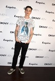 Ash Stymest Photo - London UK Ash Stymest at the DKNY MENs debut London Collections Step and Repeat at One Embankment in London 15th June 2014Ref LMK12-48832-160614J AdamsLandmark MediaWWWLMKMEDIACOM