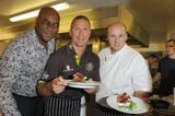 Photos From Brit Oval Cook-Off