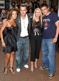 Hannah Lewis Photo - London Pop - new pop group (L-R) Hannah Lewis Jamie Tinkler (who made it to the final 50 in Pop Idol 2) Jade McGuire and Glenn Ball - at the Premiere of New York Minute starring Mary-Kate and Ashley Olsen at the Odeon West End27 July 2004Paulo PirezLandmark Media