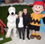 Aled Jones Photo - London UK  Lucas Jones and Aled Jones  at The UK Gala Screening of Snoopy and Charlie Brown at  The Peanuts Movie at Vue West End Leicester Square London on Saturday 28 November 2015Ref LMK392-58951-291115Vivienne VincentLandmark Media WWWLMKMEDIACOM