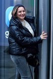 Photo - London UK Kelly Brook arrives at Global Radio in Leicester Square London on November 25th 2020Ref LMK73-J6999-251120Keith MayhewLandmark MediaWWWLMKMEDIACOM