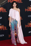 Gemma Chan Photo - HOLLYWOOD LOS ANGELES CA USA - MARCH 04 Actress Gemma Chan wearing Ralph and Russo arrives at the Los Angeles Premiere Of Marvel Studios Captain Marvel held at the El Capitan Theatre on March 4 2019 in Hollywood Los Angeles California United States (Photo by David AcostaImage Press Agency)