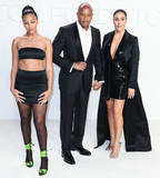 Dr Dre Photo - HOLLYWOOD LOS ANGELES CALIFORNIA USA - FEBRUARY 07 Truly Young Dr Dre and Nicole Young arrive at the Tom Ford AutumnWinter 2020 Fashion Show held at Milk Studios on February 7 2020 in Hollywood Los Angeles California United States (Photo by Xavier CollinImage Press Agency)