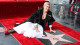 Photos From P!nk Honored With Star On The Hollywood Walk Of Fame