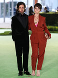 Photo - LOS ANGELES CALIFORNIA USA - SEPTEMBER 25 Actor Simon Helberg and wife Jocelyn Towne arrive at the Academy Museum of Motion Pictures Opening Gala held at the Academy Museum of Motion Pictures on September 25 2021 in Los Angeles California United States (Photo by Xavier CollinImage Press Agency)