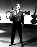 Photo - Elvis Presley on the Ed Sullivan Show 91956 1950s Supplied by DmGlobe Photos Inc