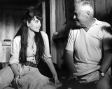 Henry Hathaway Photo - Suzanne Pleshette with Director Henry Hathaway Between Scenes For Nevada Smith Supplied by Ad-Globe Photos Inc