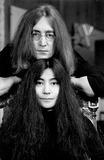 Photo - Photo Tom Blau- Cp-Globe Photos Inc John Lennon Yoko Ono