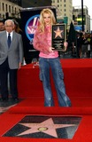 Photos From Britney Spears Honored with Hollywood Star